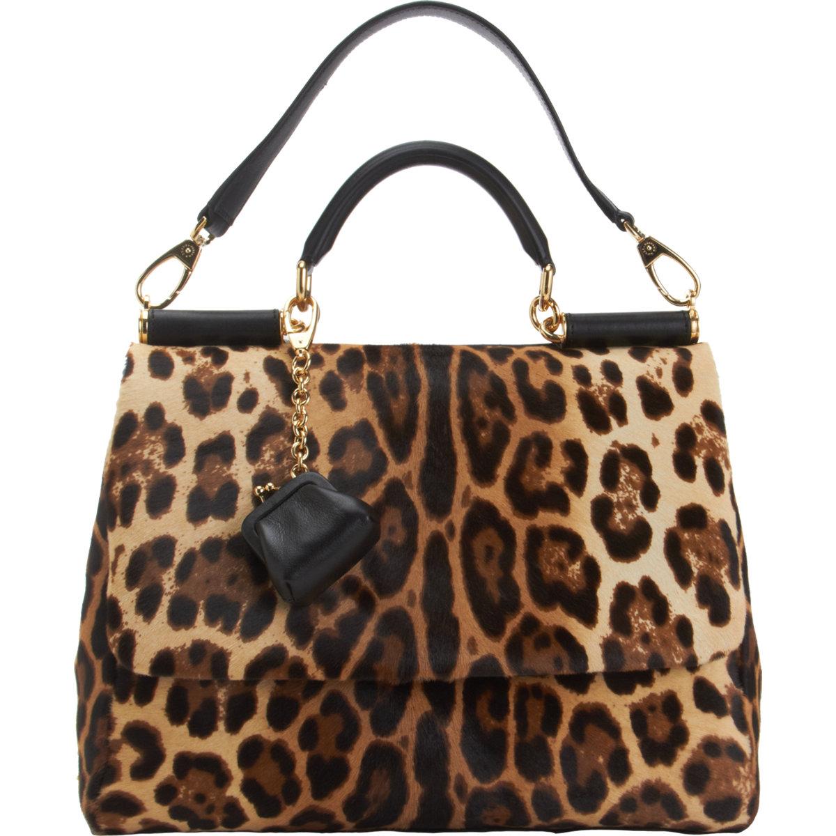 DOLCE & GABBANA Calf Hair Miss Sicily Bag $2,945