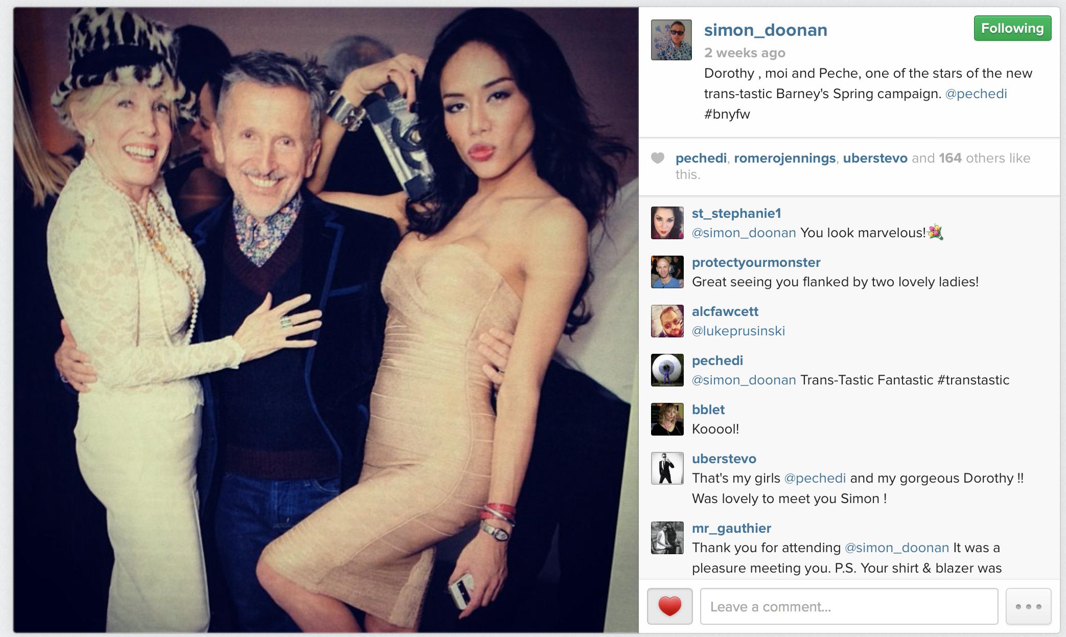ไซมอน ดูนาน โพสรูปผ่านทาง Instagramแล้วทวิสเตอร์ (http://www.simondoonan.com)