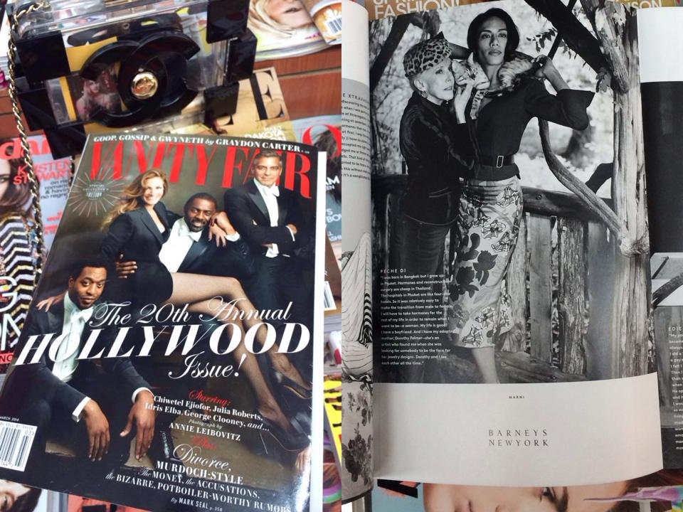 Vanity Fair The 20th Annual Hollywood Issue March,2014