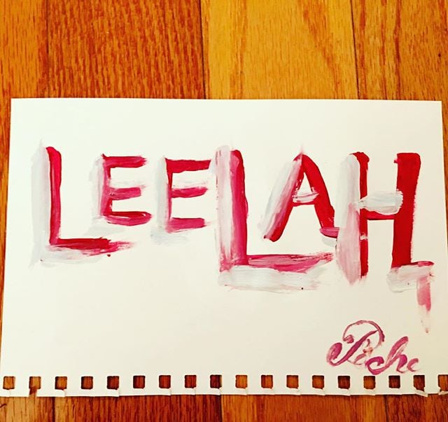 """""""LEELAH""""  @pairojpichet #leelah #leelahalcorn #notonemore #translivesmatter #restinpower @transmodelsnyc @transtvofficial"""