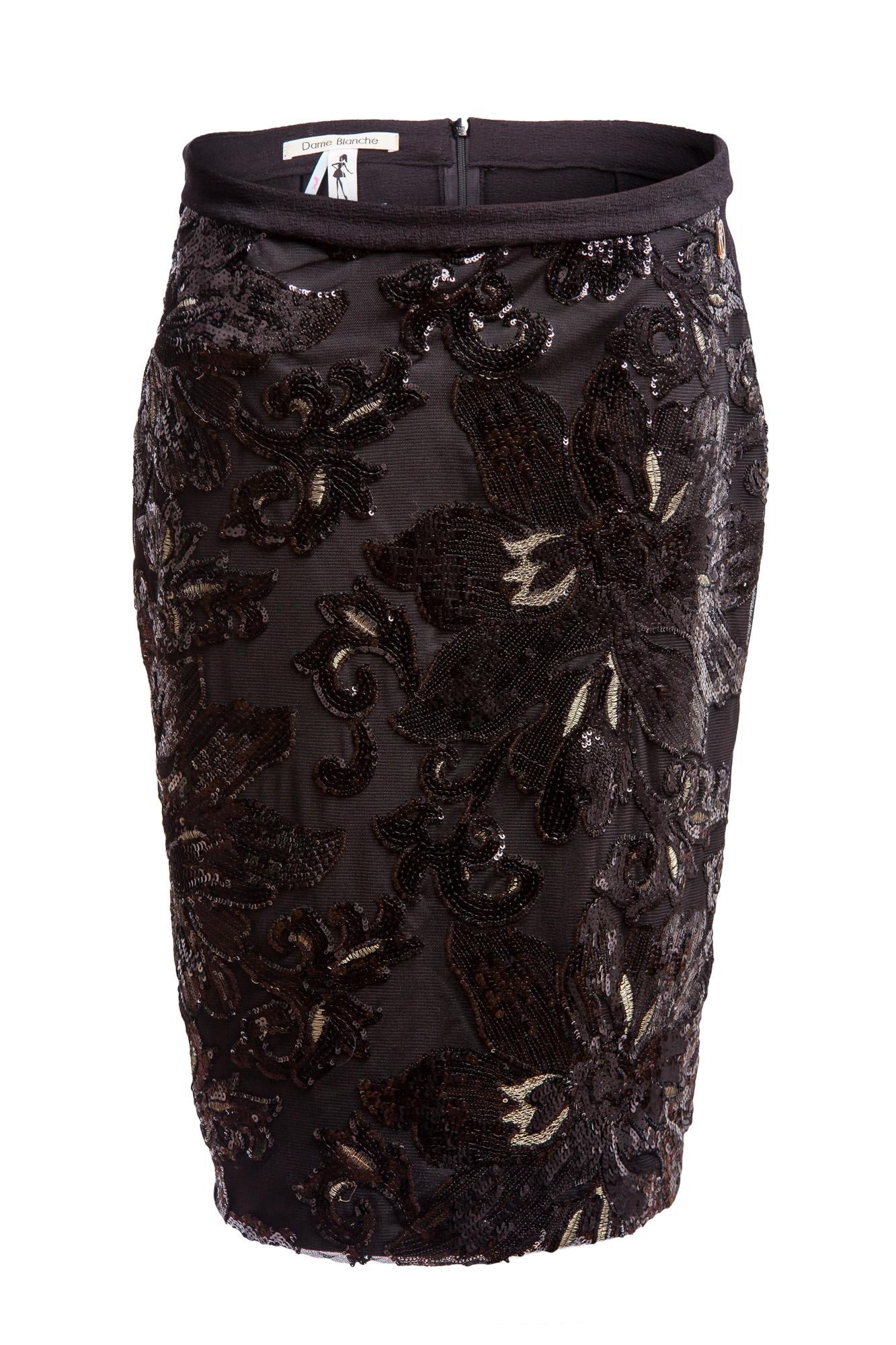 Dame Blanche - Pencil Skirt Black-17.jpg