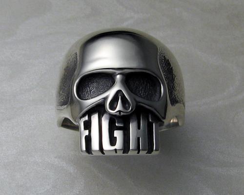 Hugh Dillon's Fight Skull Ring