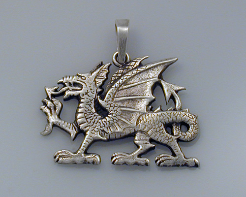 Welsh Dragon Pendant