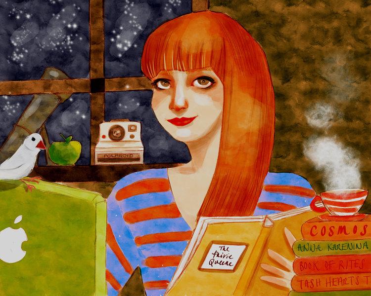 Illustration:  Tatum Flynn .