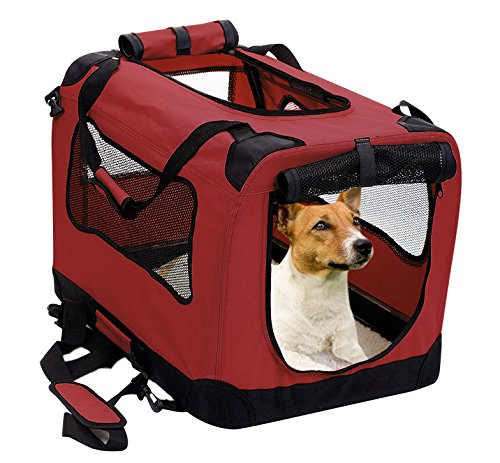 Source :  2PET Foldable Dog Crate From Amazon.com