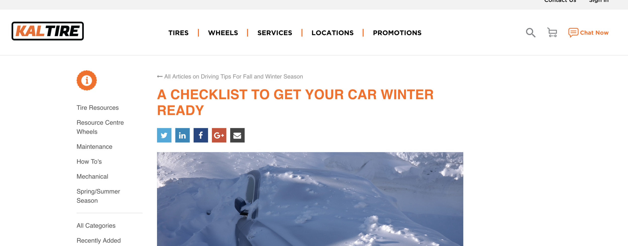 Screenshot from    info.kaltire.com