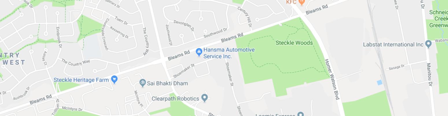 Hansma Location - Google Maps