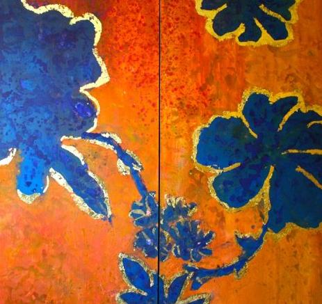 Title: Desert Bluebells