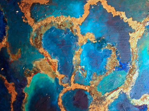 Title: Ocean Golden Reefs