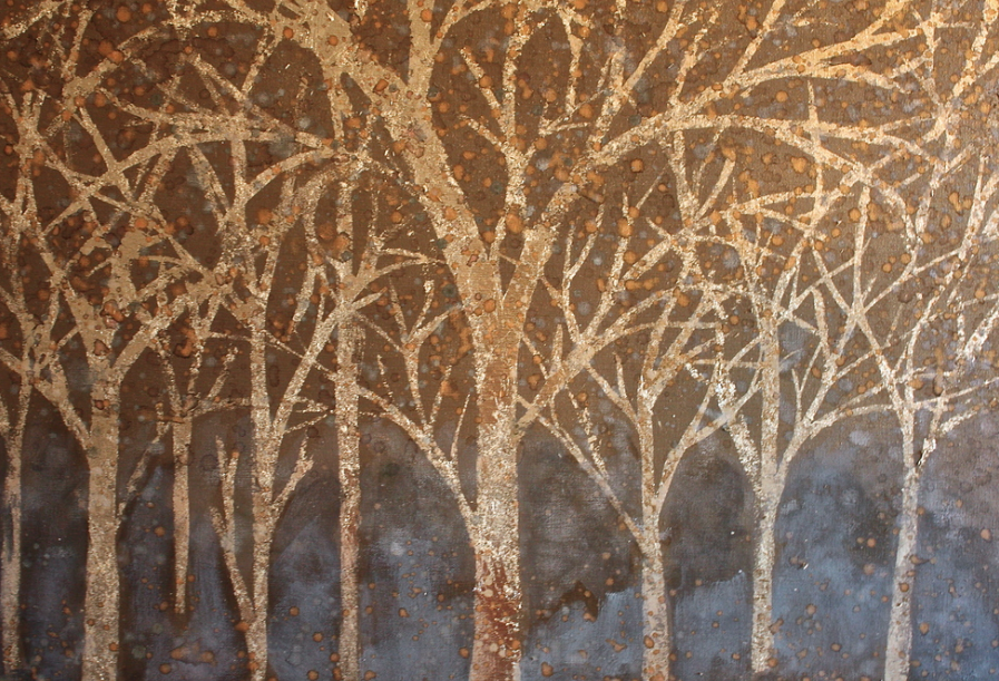 Title: Bronze Forest