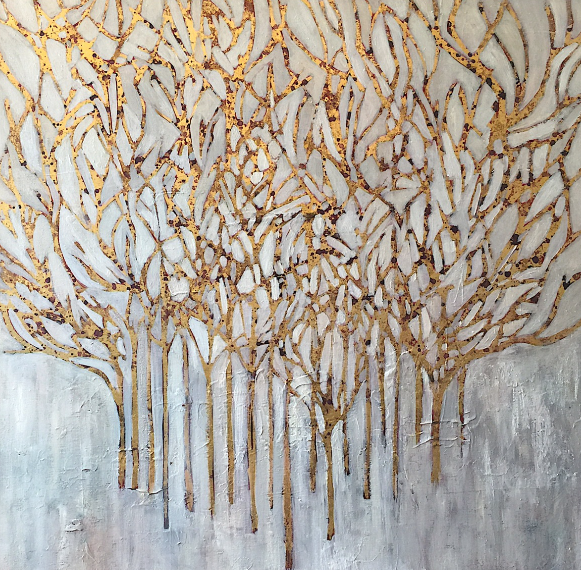 Title: White Forest
