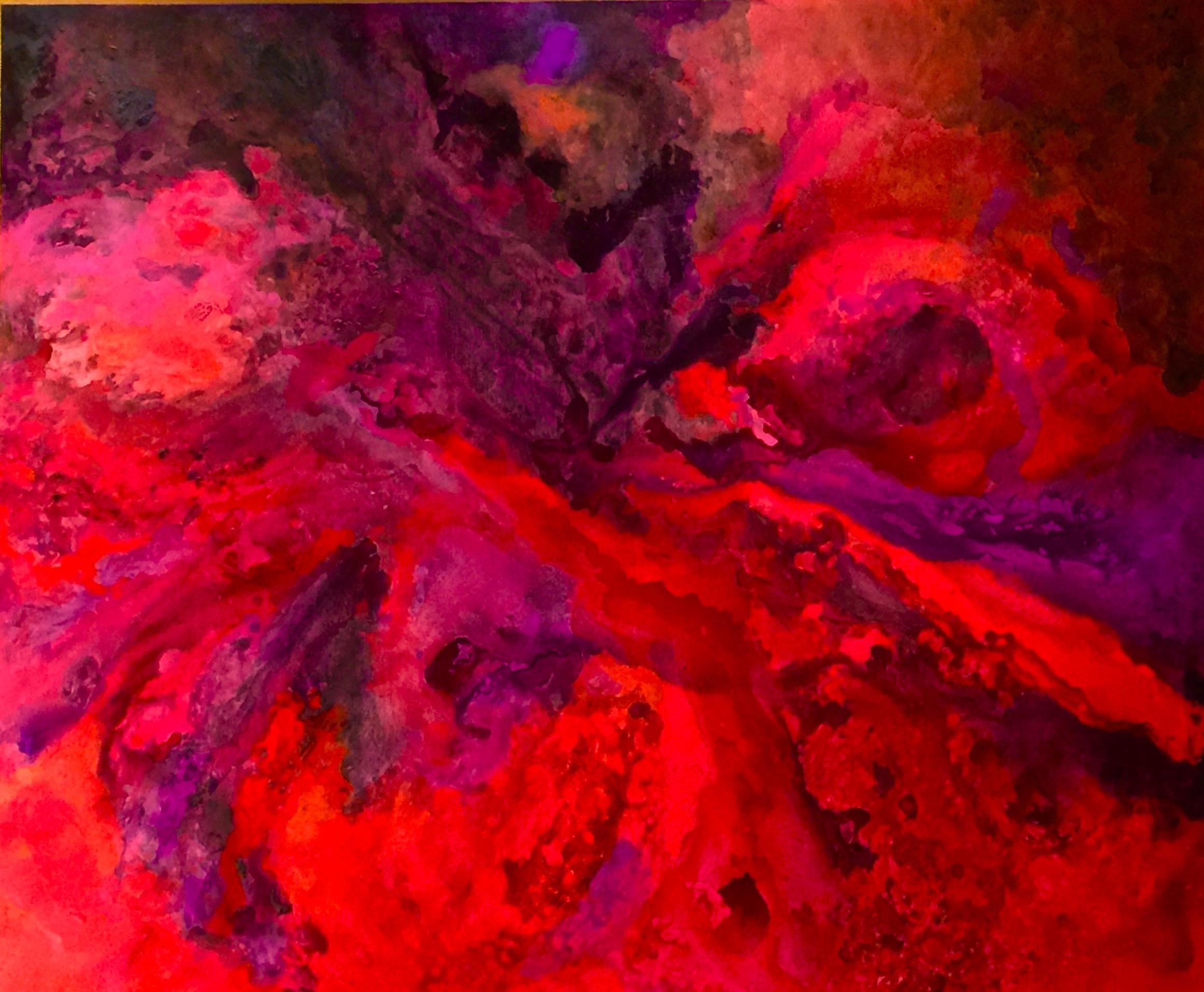 Tilte: Lava Commission Painting