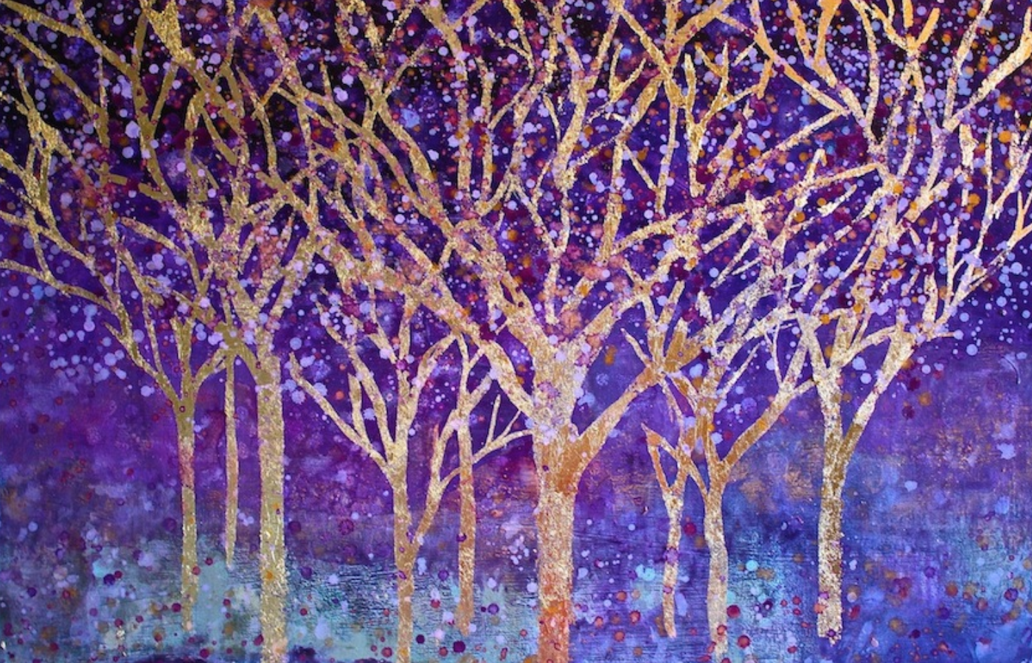 Title: Amethyst Forest