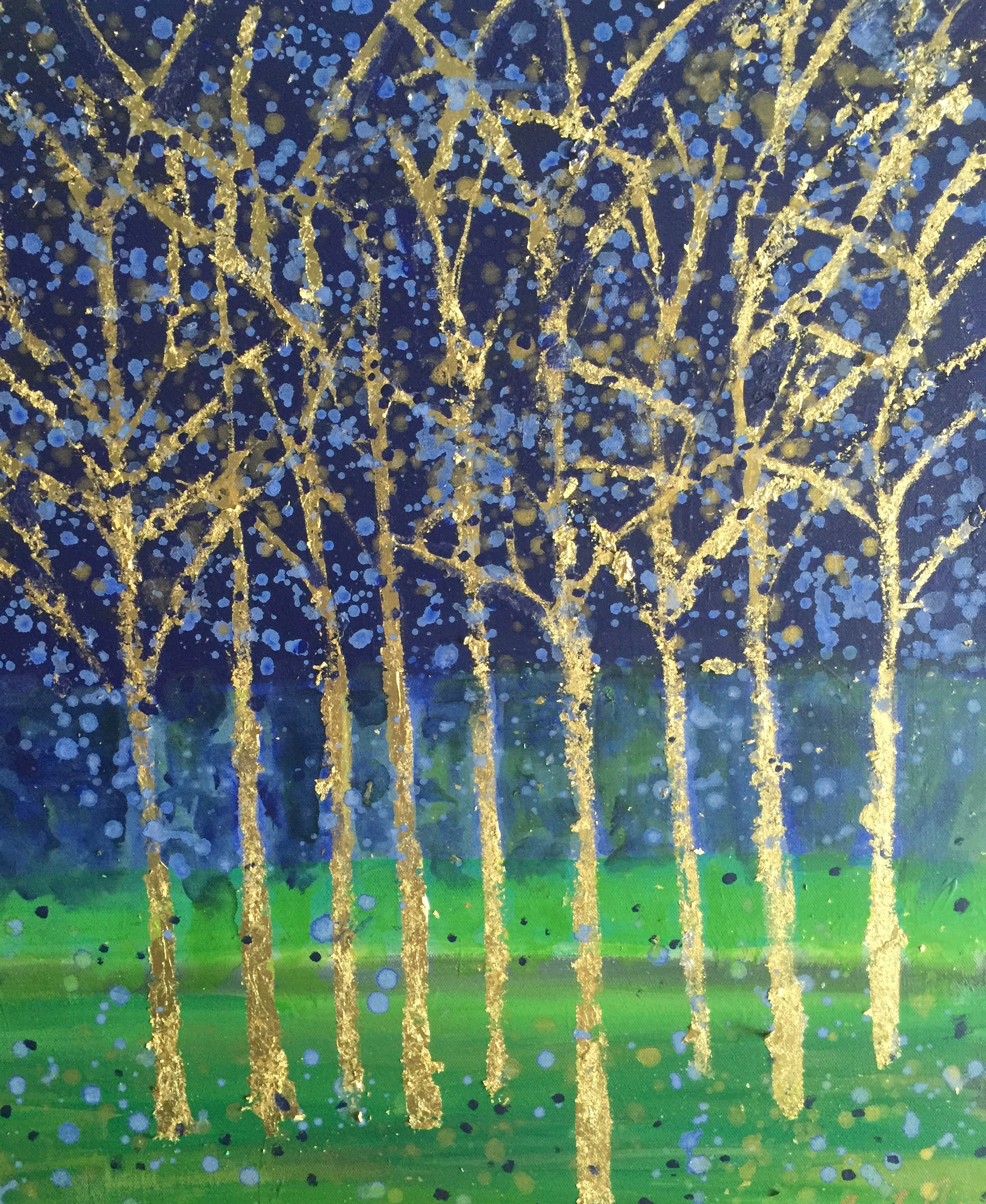 Title: Blue Forest