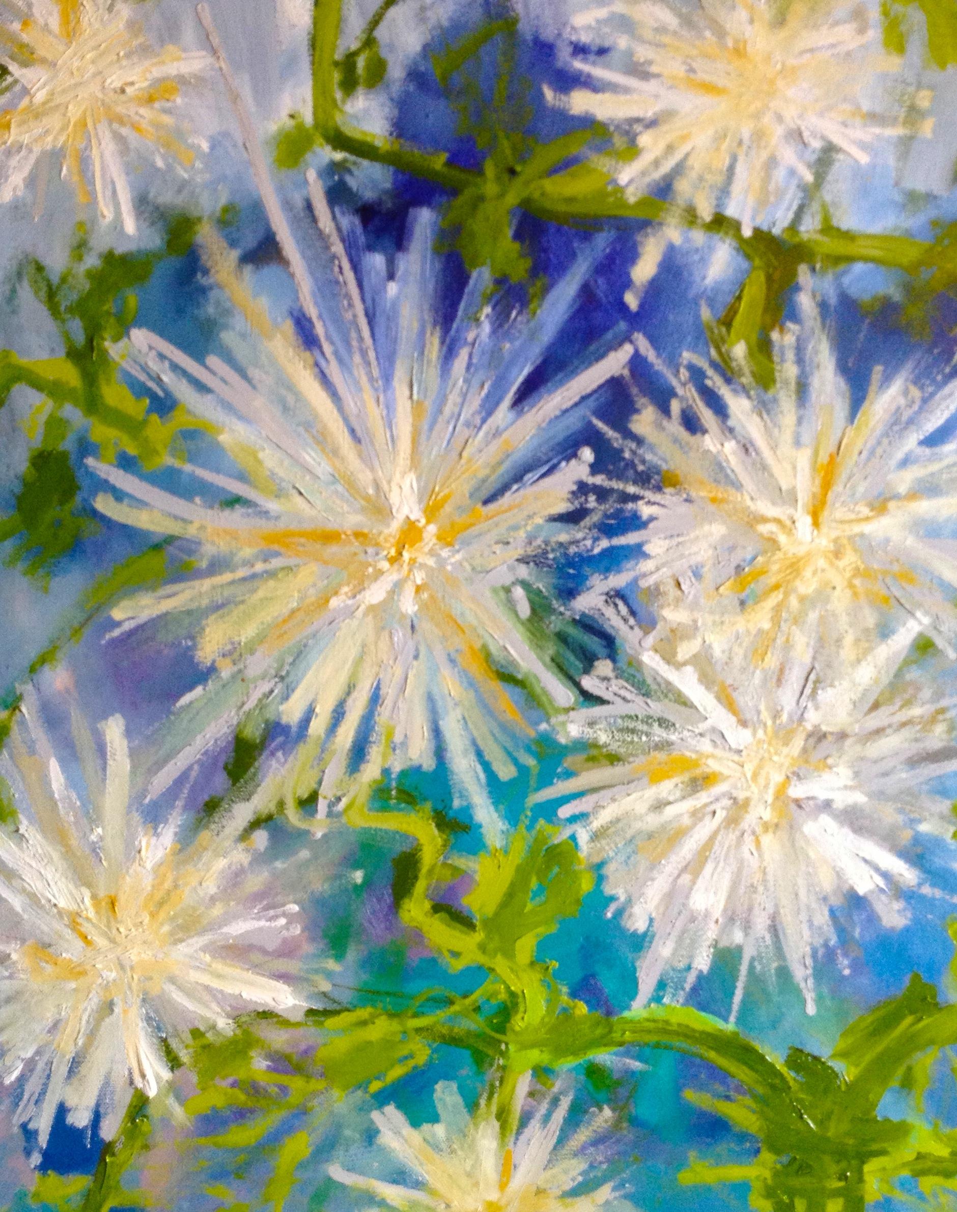 Tilte: Flower Web
