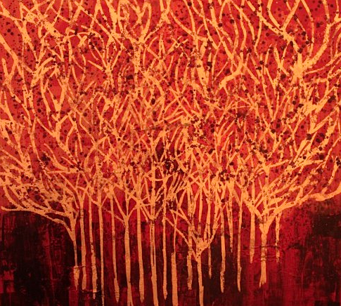 Title: red Forest