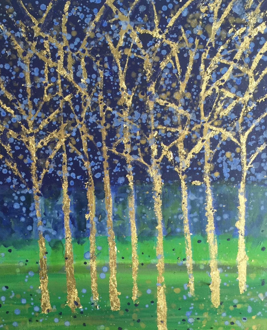 Title: Spring in the Forest