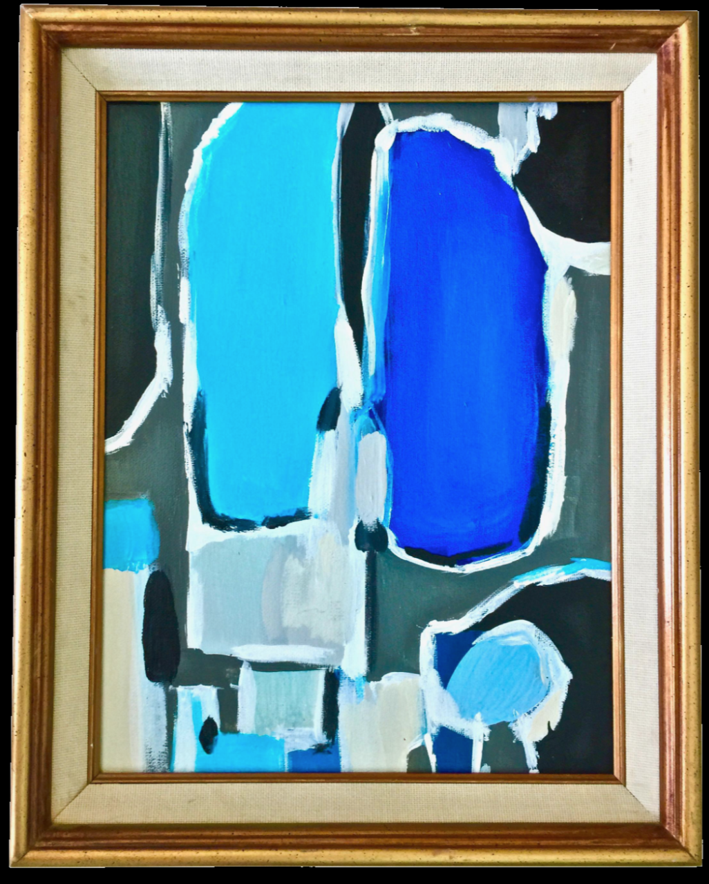 Title: Blue on Blue