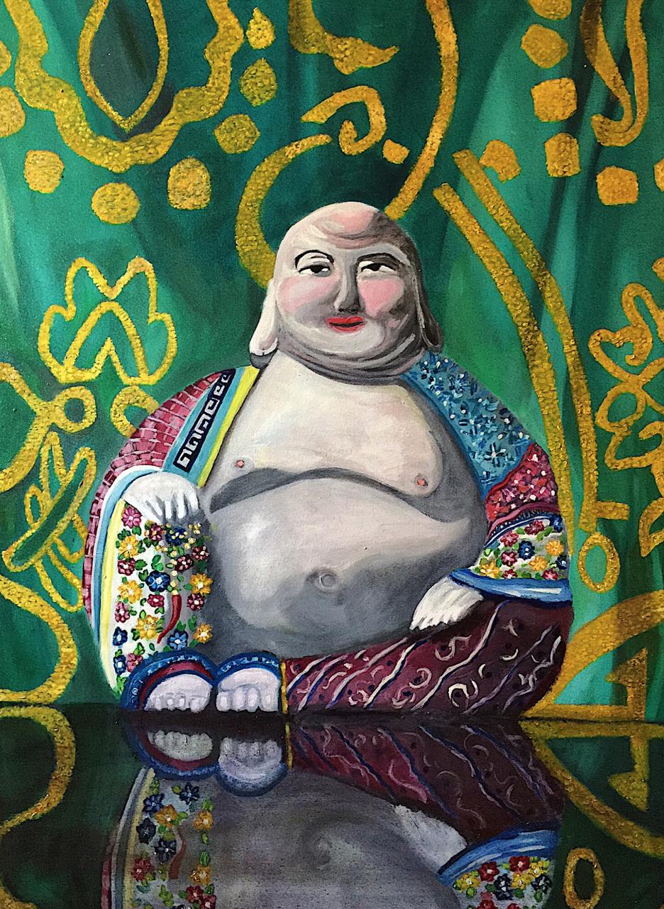 Title: Majestic Buddha