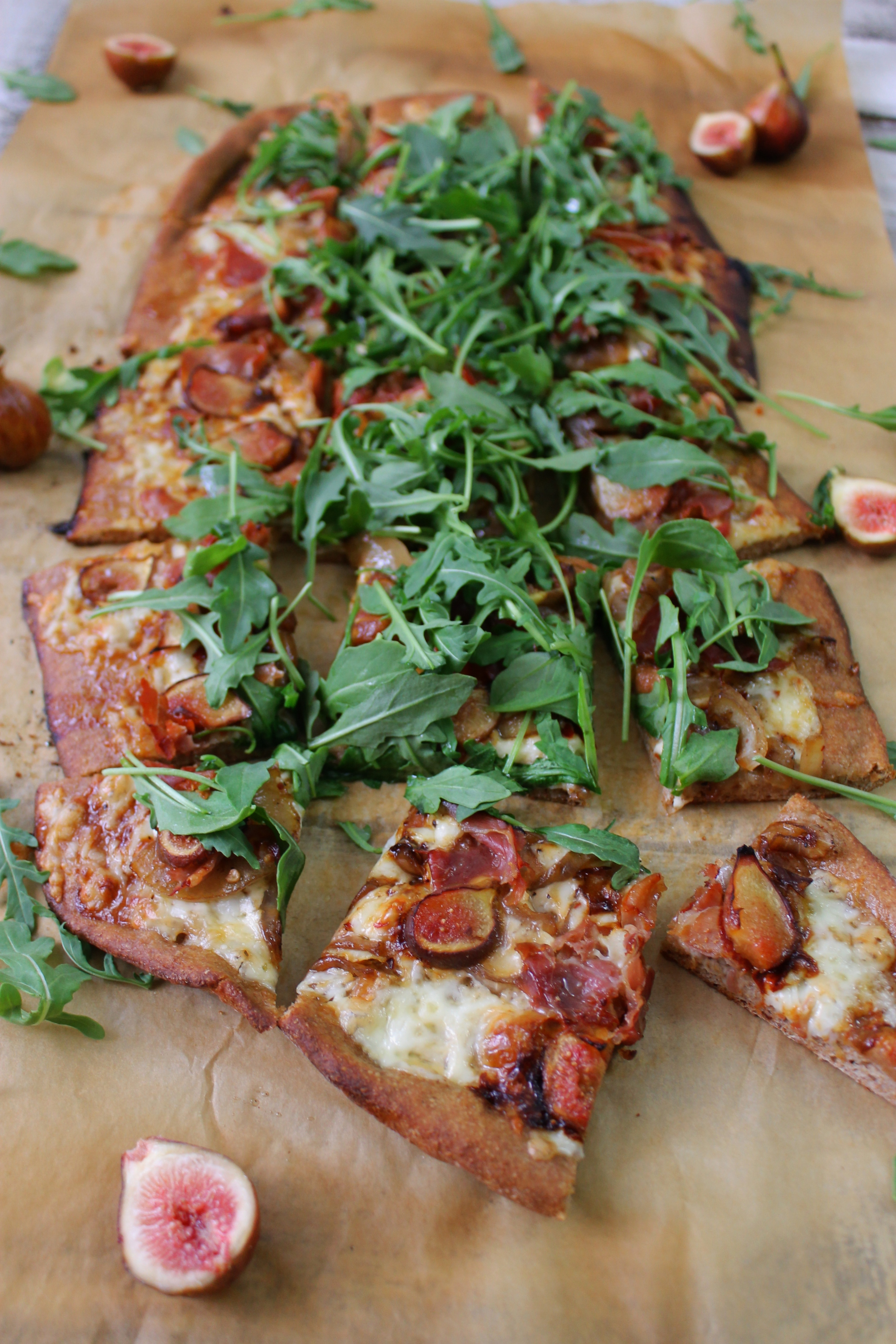 Fig, Honey, and Prosciutto Pizza: My Diary of Us