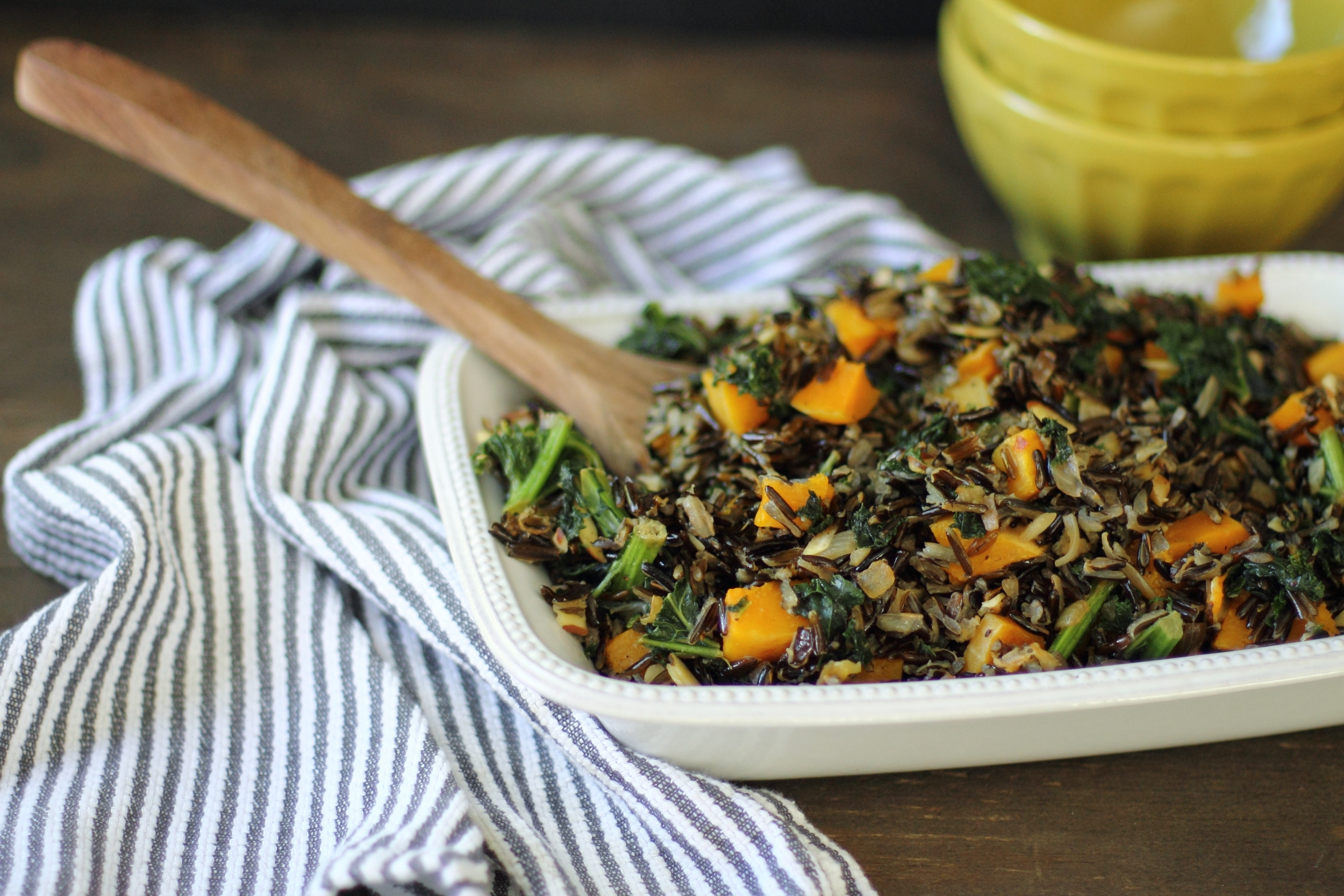 Butternut Squash, Kale, and Wild Rice Salad: My Diary of Us