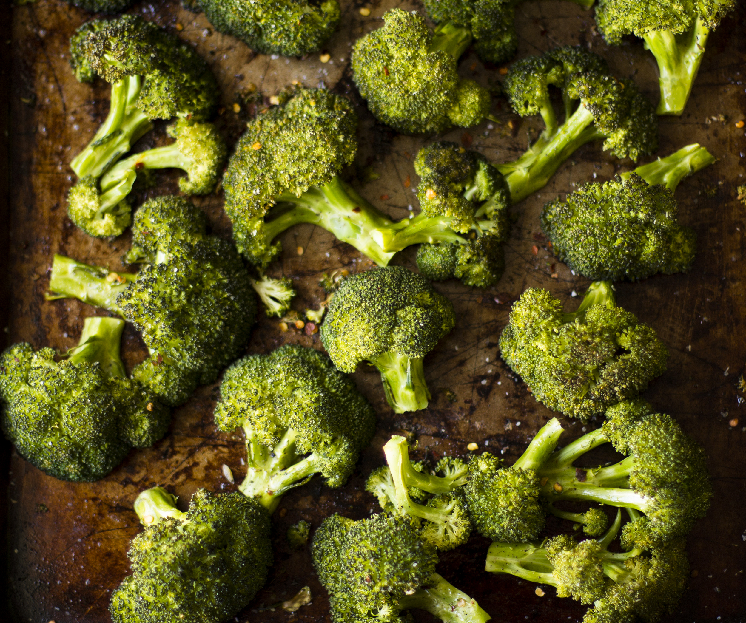 Spicy Roasted Broccoli: My Diary of Us