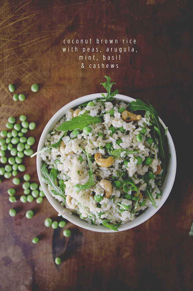 Coconut Brown Rice: The Kitchy Kitchen