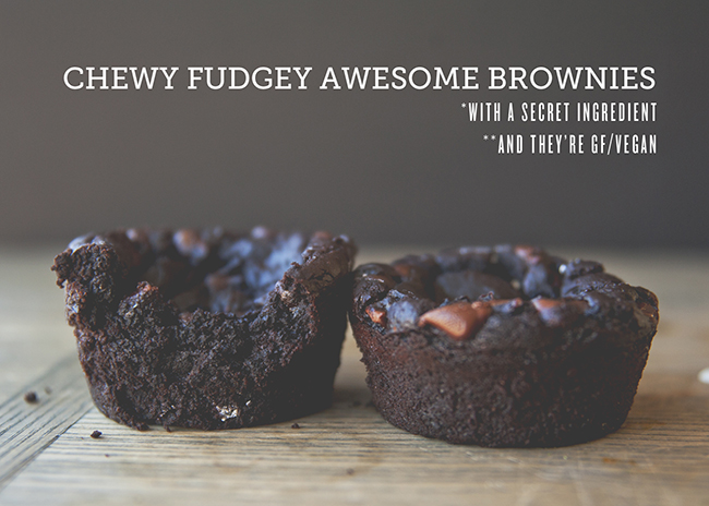 Chewy Fudgey Awesome Brownies: The Kitchy Kitchen