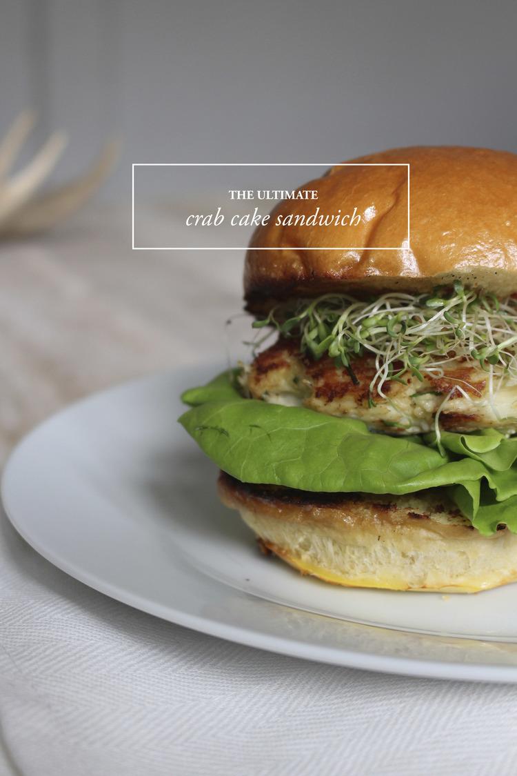 Ultimate Crab Cake Sandwich: Upperlyne & Co.