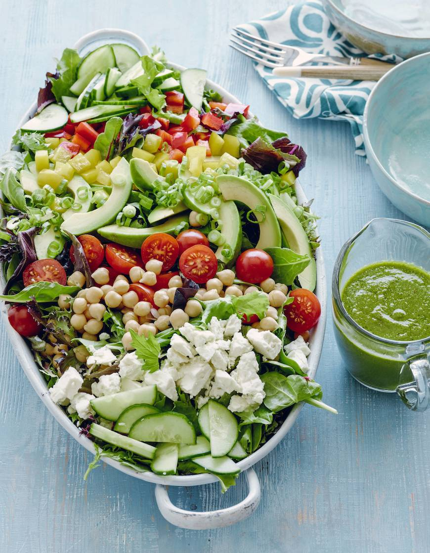 Loaded Power Salad: What's Gaby Cooking