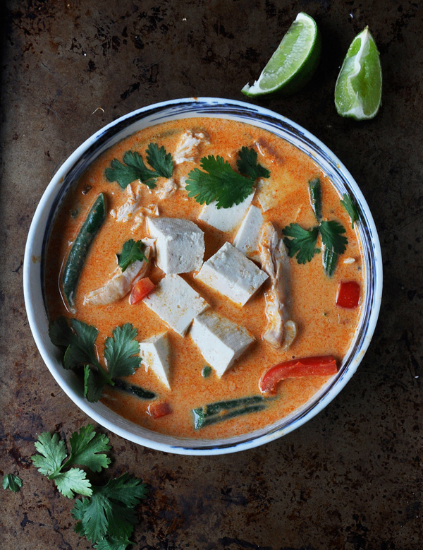 Coconut Curry with Chicken and Tofu: A Life Well Lived Blog