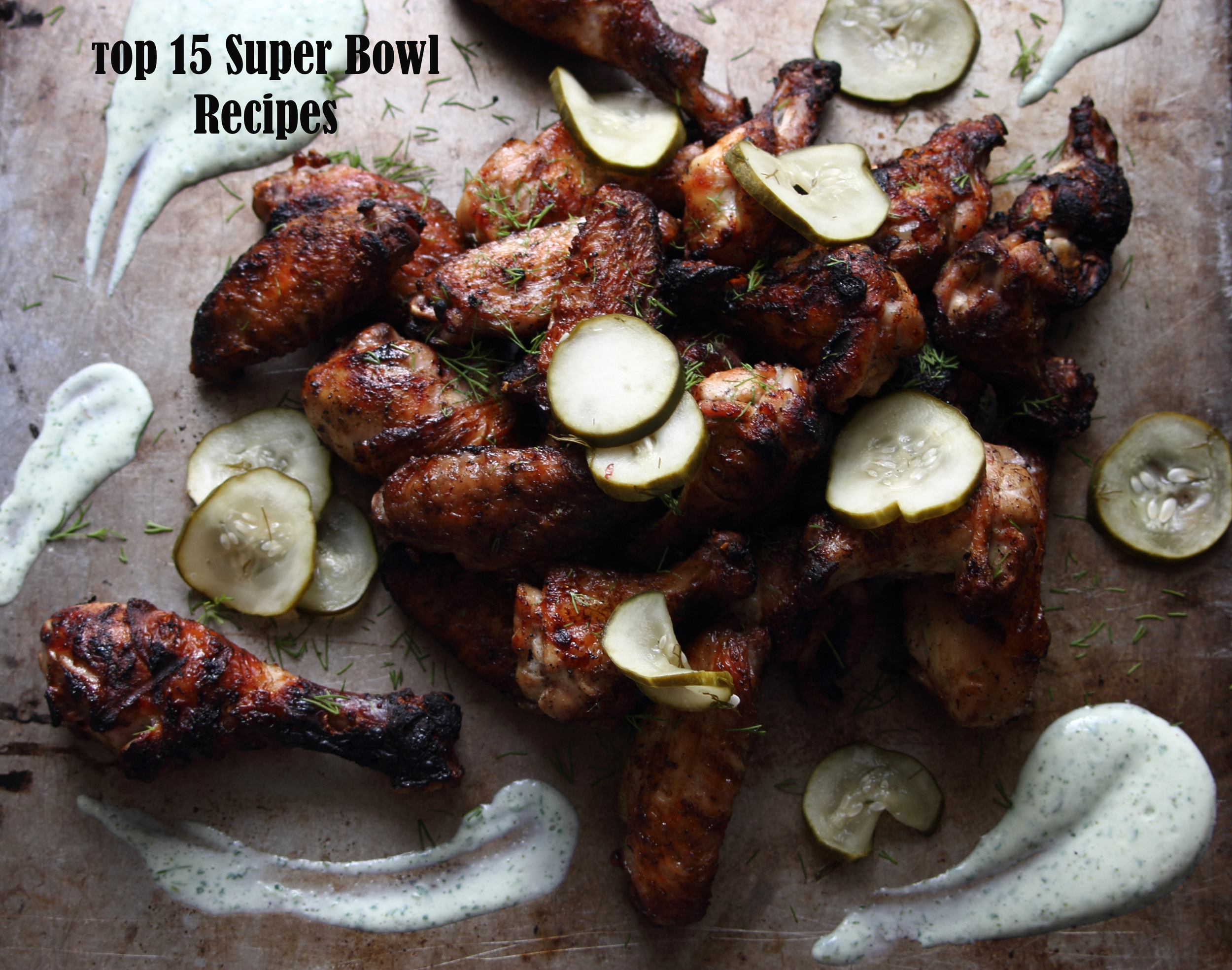 Grilled Pickle Chicken Wings: My Diary of Us