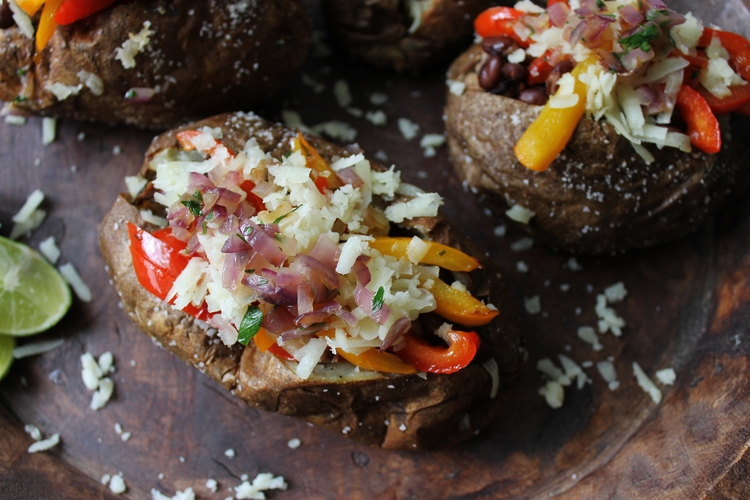 Cuban Flank Steak Stuffed Potatoes: My Diary of Us