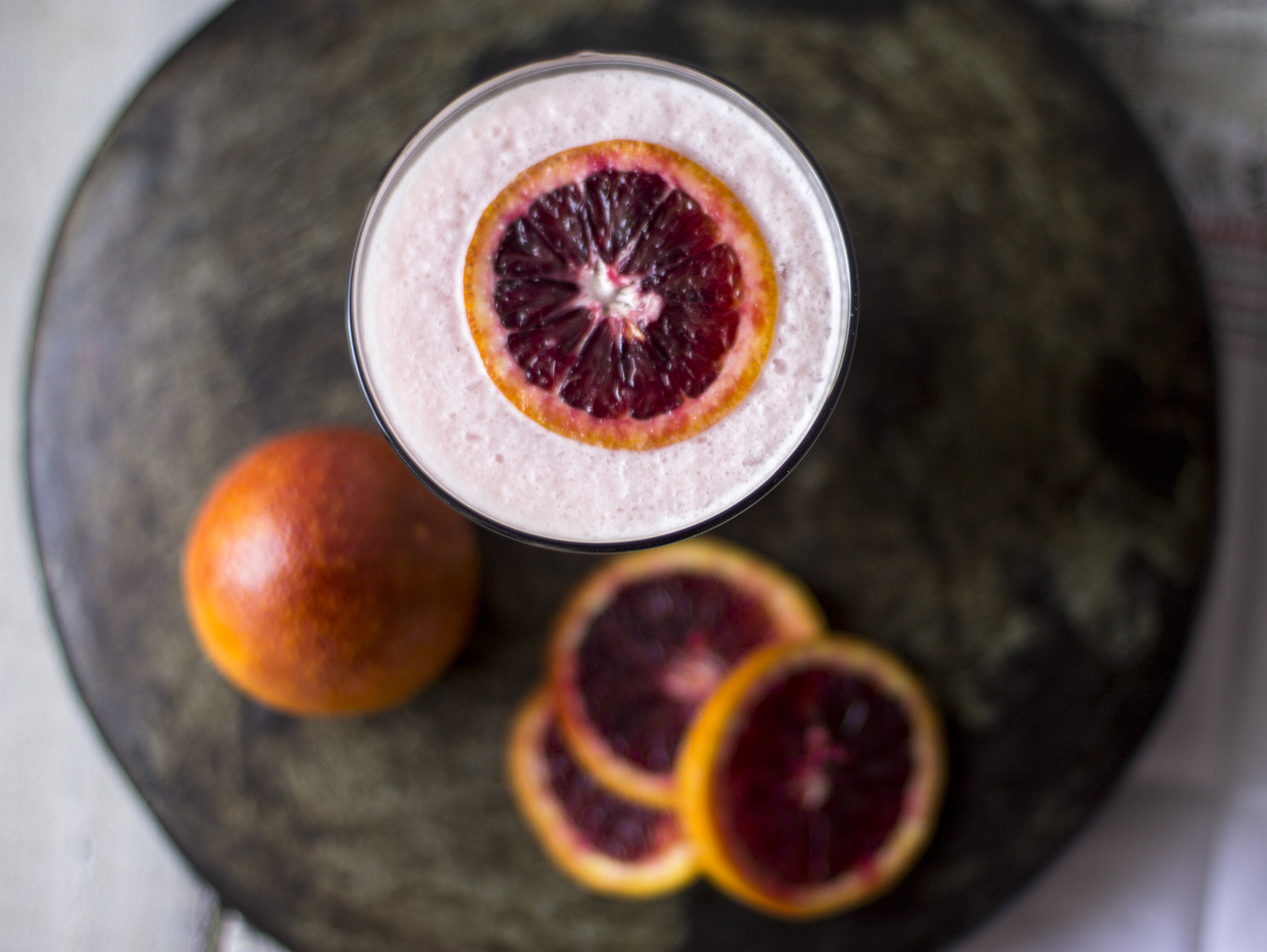 Spiced Blood Orange and Coconut Daquiris: My Diary of Us