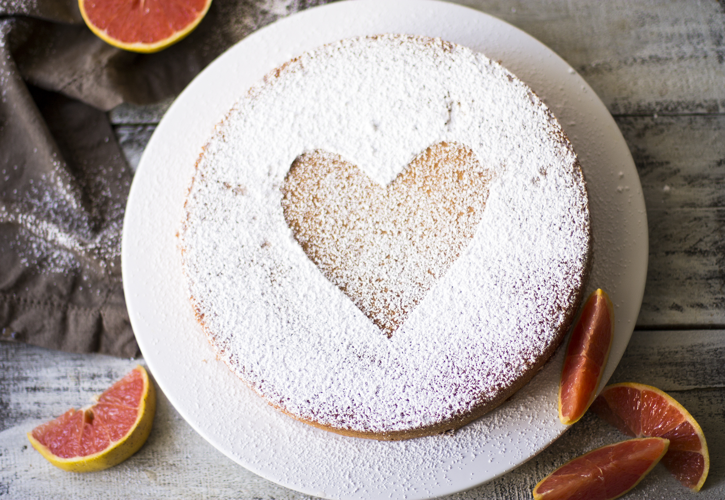Whole Wheat Grapefruit and Olive Oil Cake: My Diary of Us