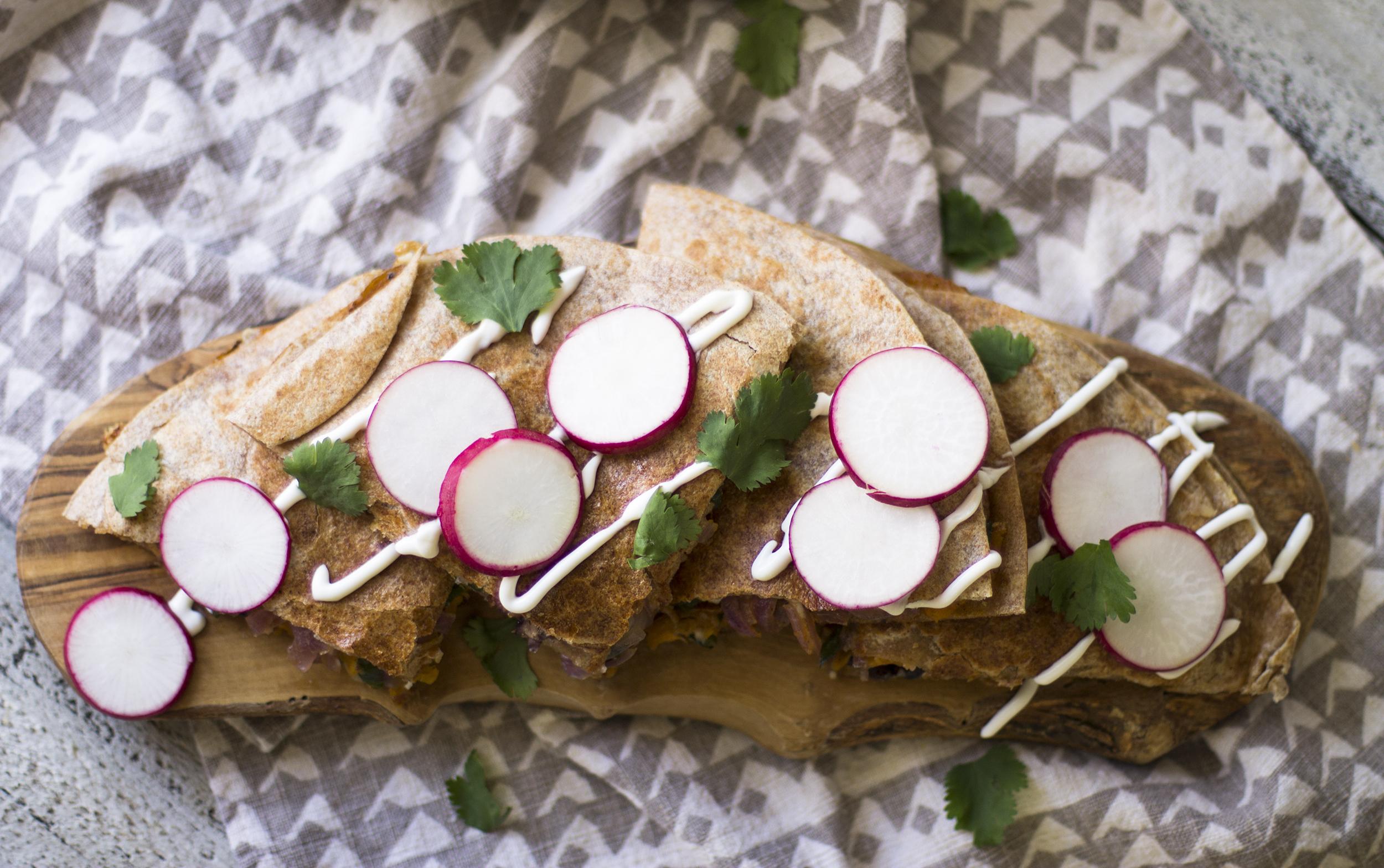 Chorizo, Poblano, and Sweet Potato Quesadillas: My Diary of Us