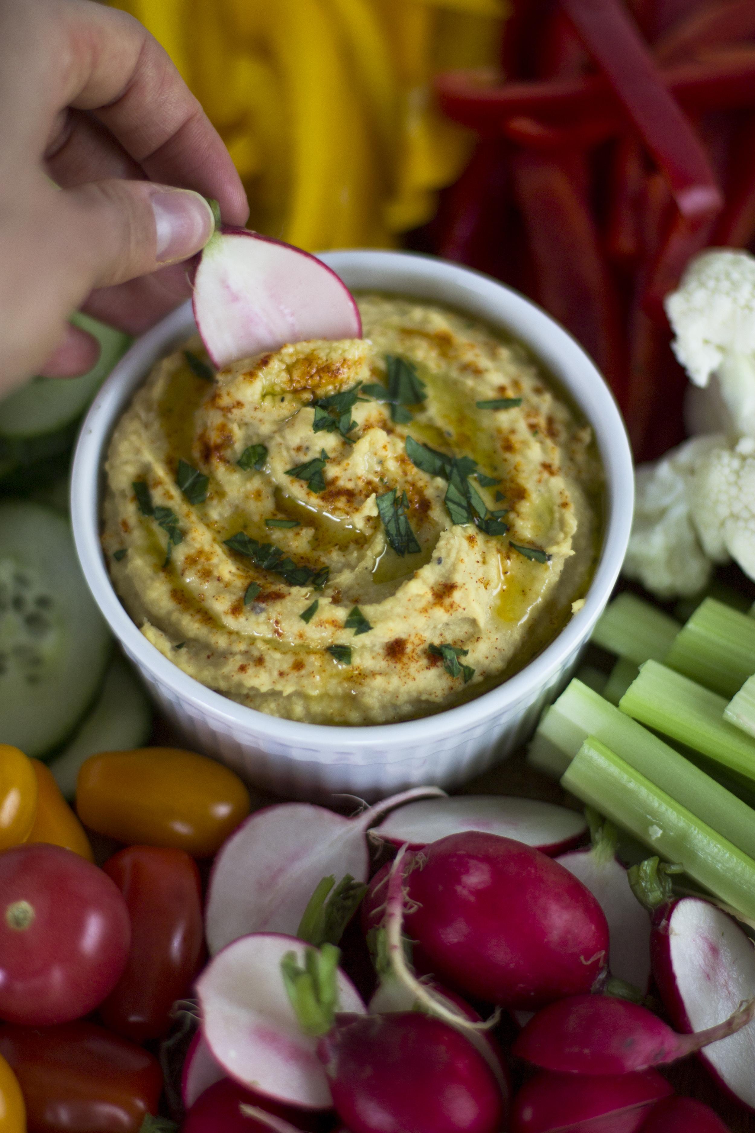 Easy Classic Hummus: My Diary of Us