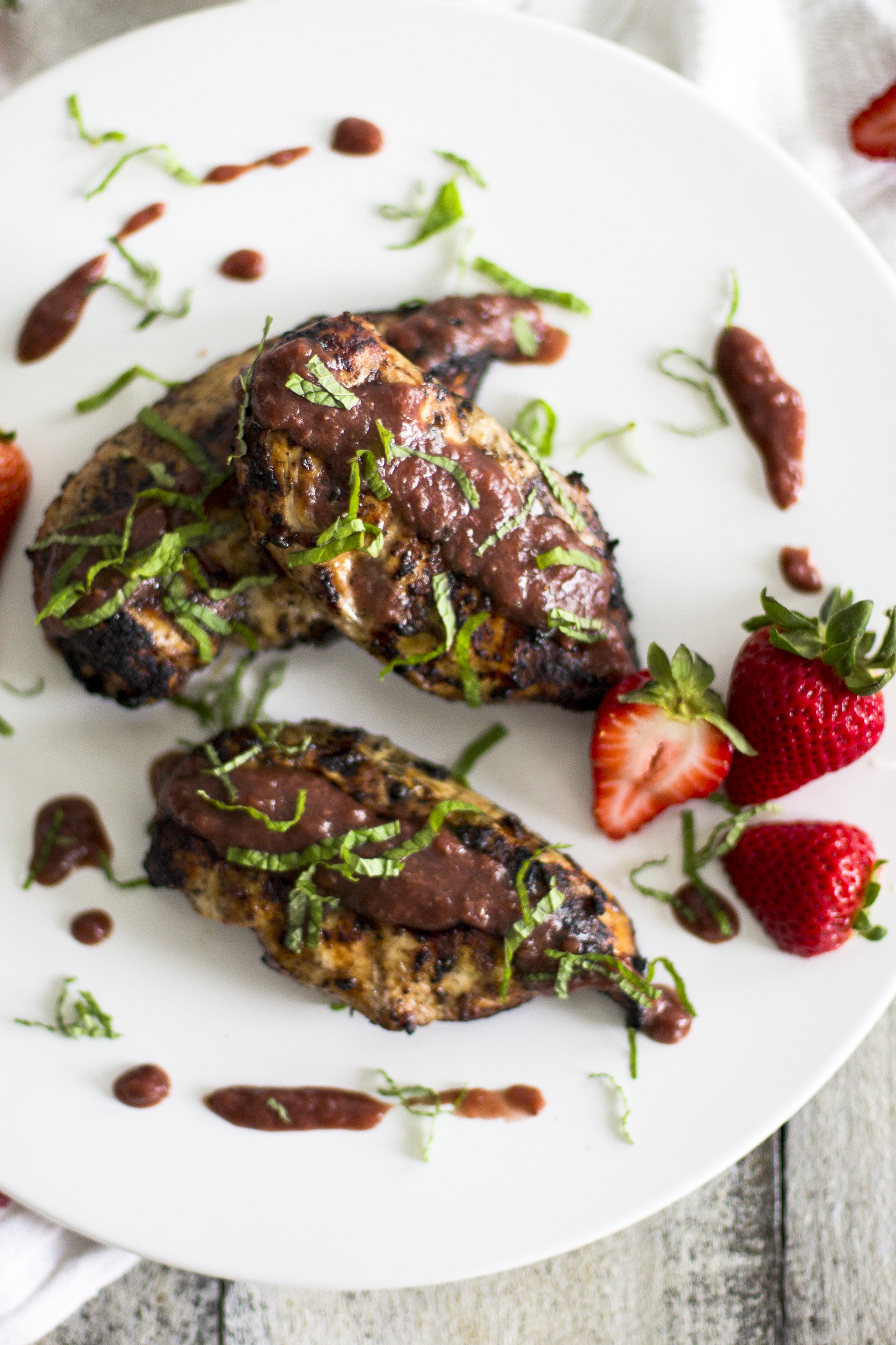 Strawberry Balsamic Grilled Chicken: My Diary of U