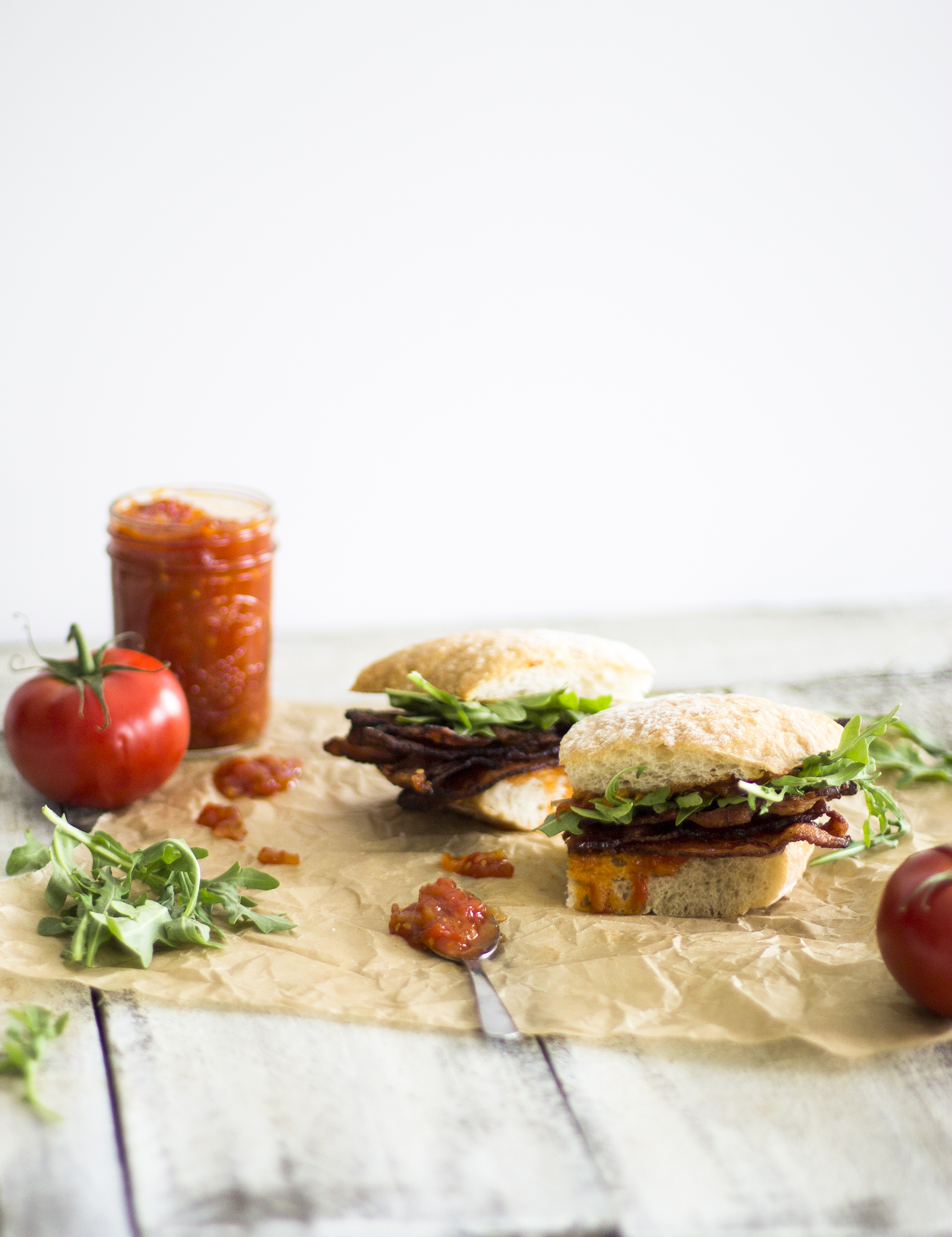 Tomato Jam BLT: My Diary of Us