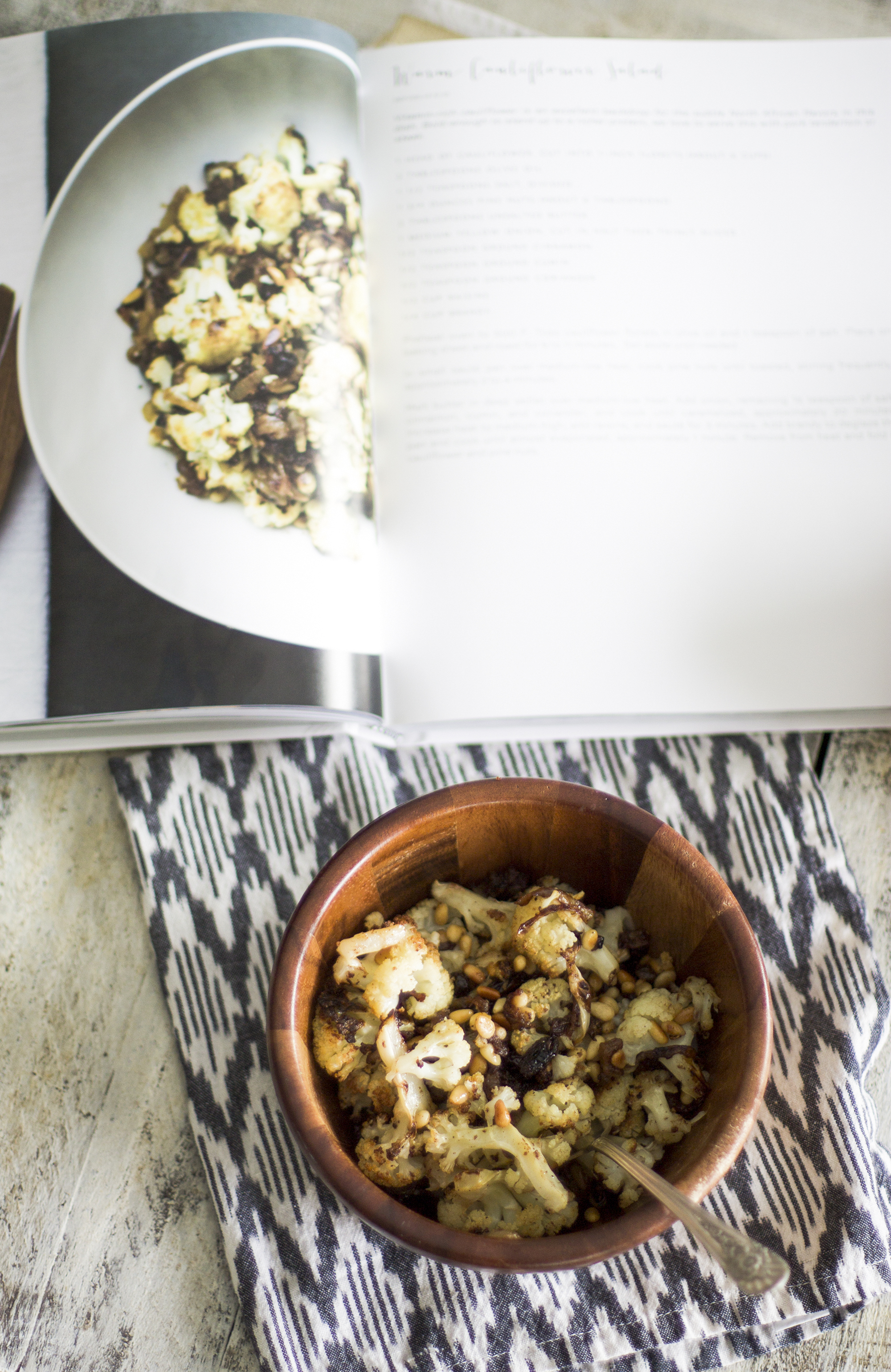 arm Cauliflower Salad from Five Seasons: My Diary of Us