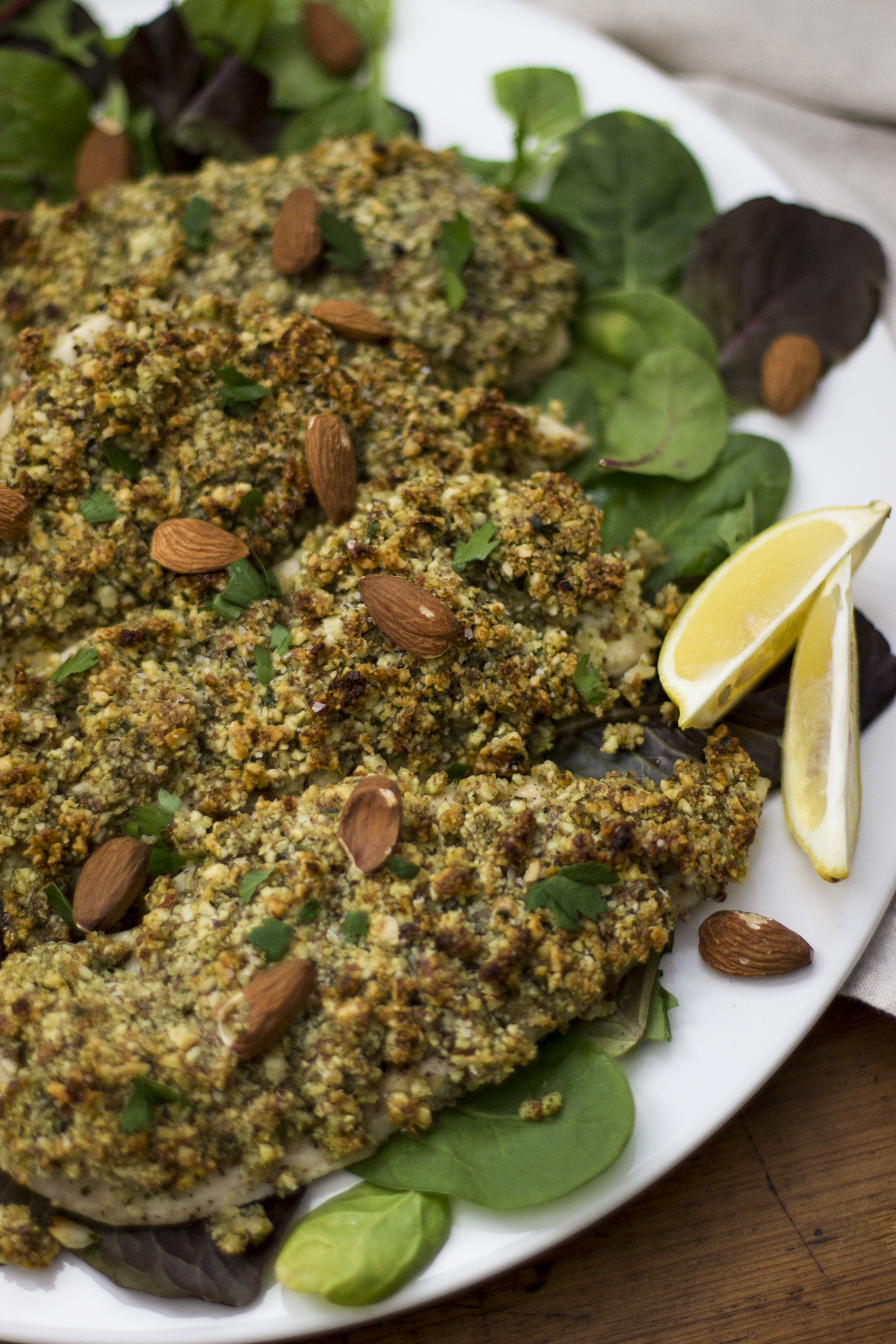 Almond Crusted Chicken: My Diary of Us