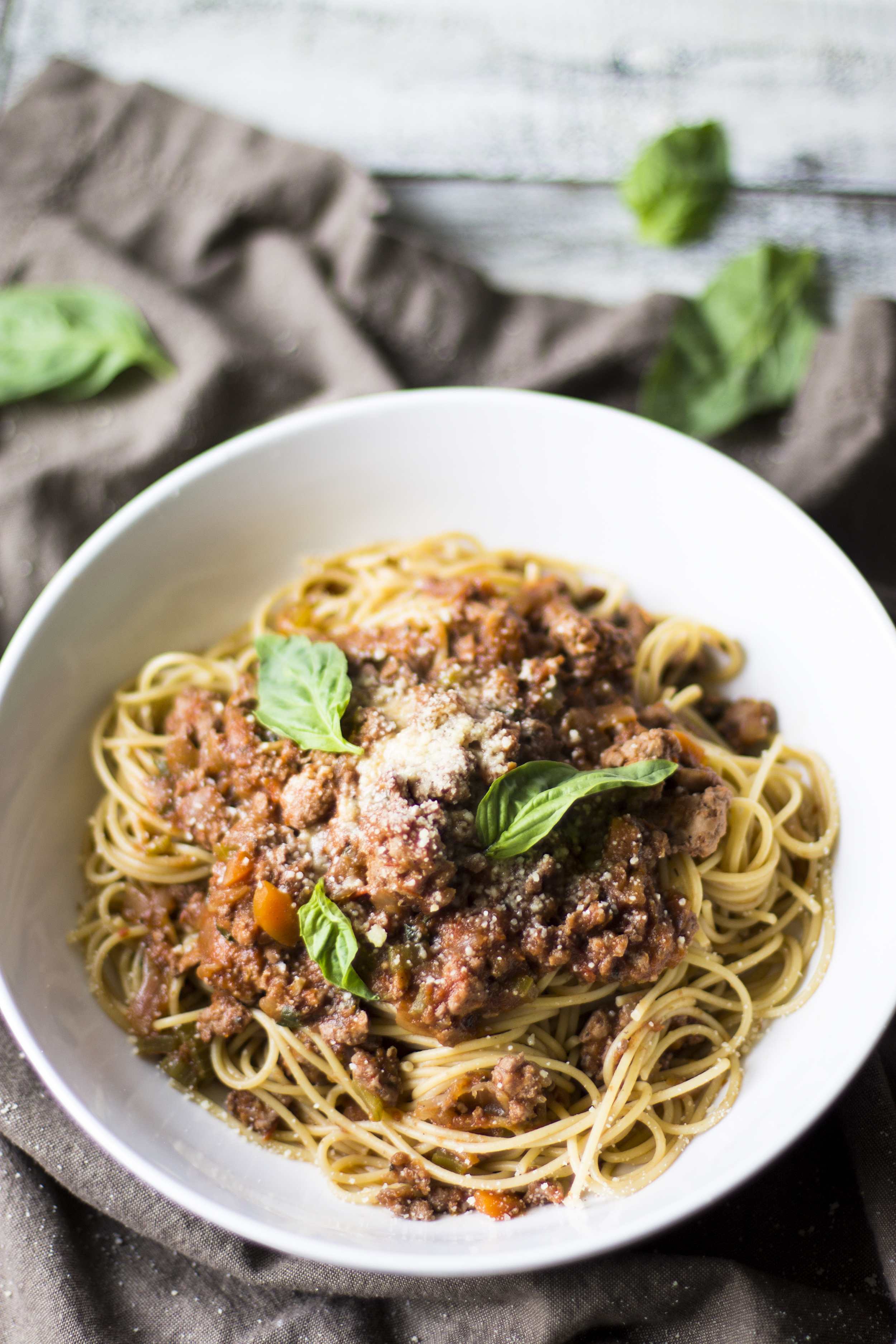Healthy Turkey Bolognese: My Diary of Us