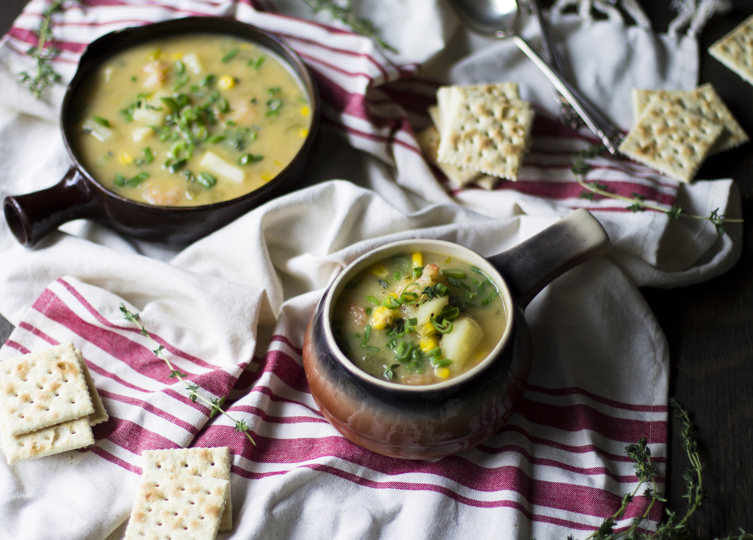 Healthy Shrimp and Corn Chowder: My Diary of Us