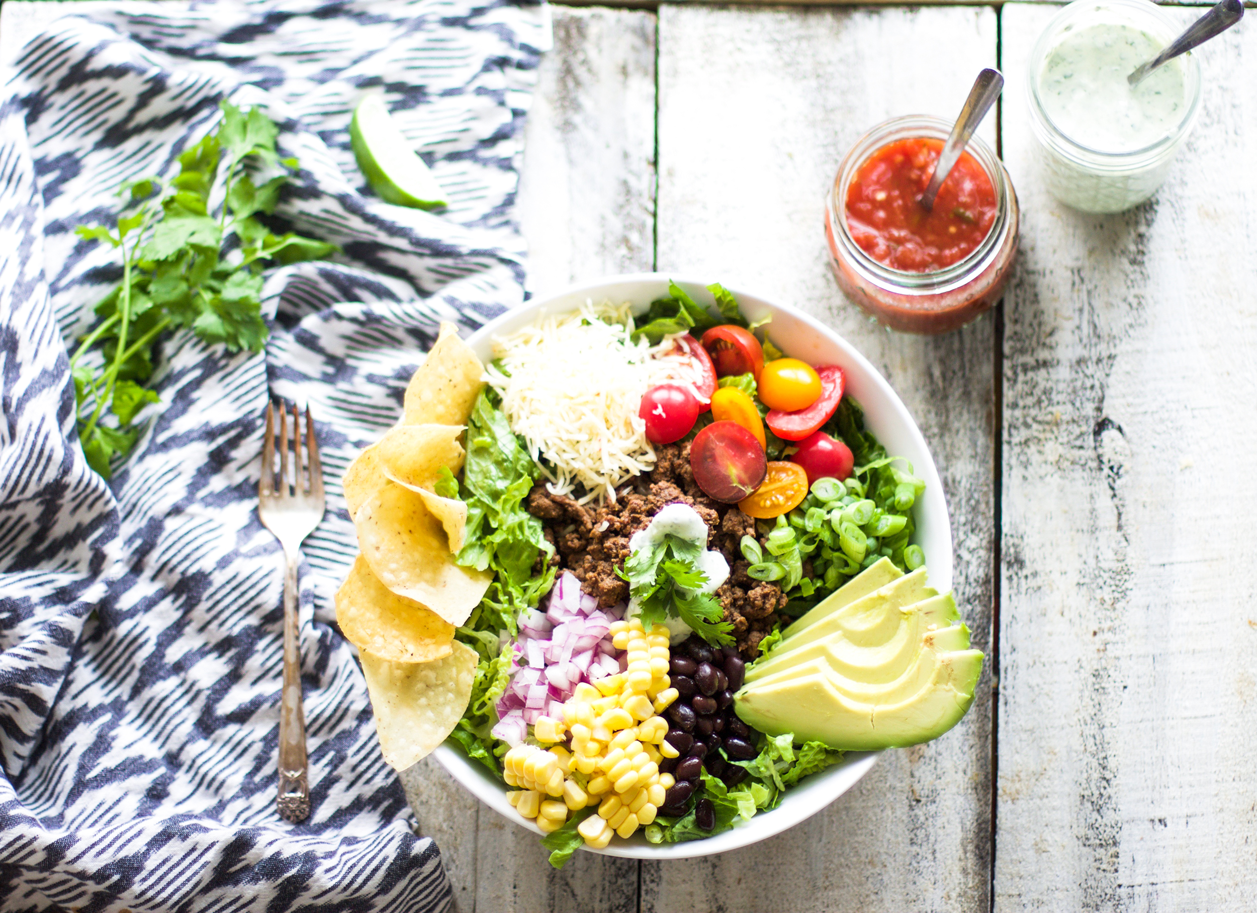 Easy Taco Salad: My Diary of Us