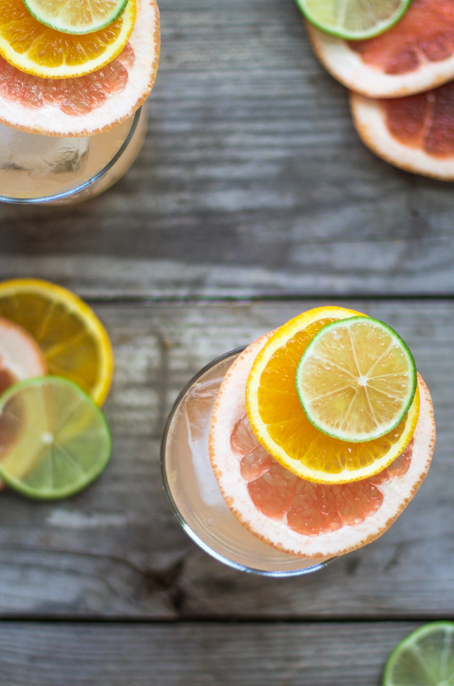 Mom's 5 O'Clock Citrus Vodka Soda