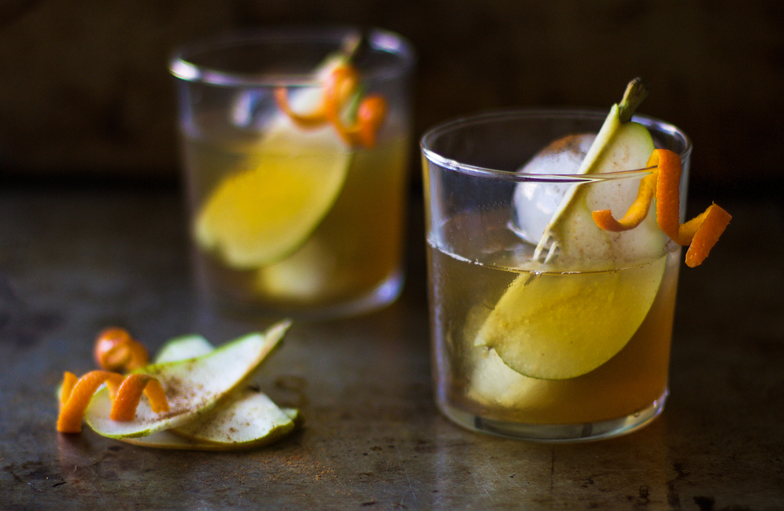 Spiced Pear Bourbon Old Fashioned: My Diary of Us
