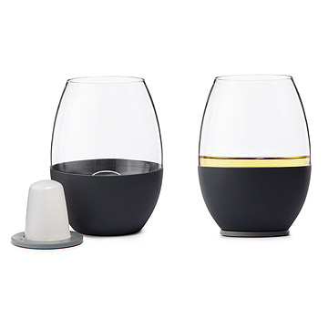 Self-Chilling Wine Glasses at UncommonGoods: My Diary of Us