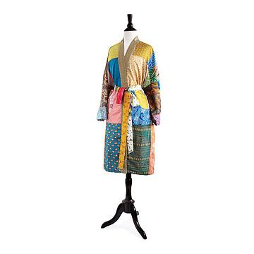 Upcycled Sari Robe at UncommonGoods: My Diary of Us