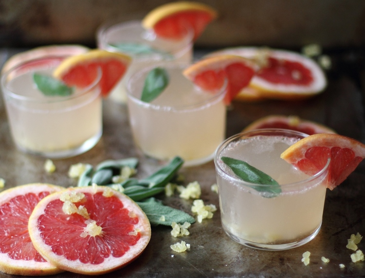 Grapefruit, Ginger, and Sage Fizz: My Diary of Us