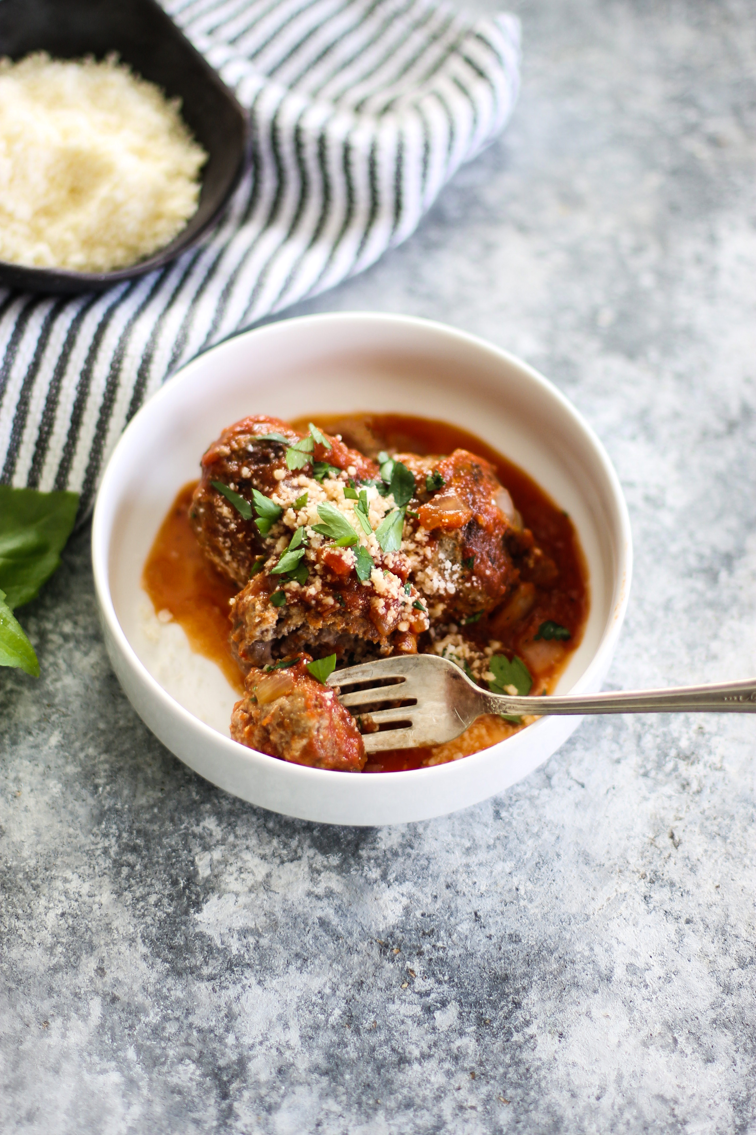 Easy Homemade Meatballs in Marinara: My Diary of Us